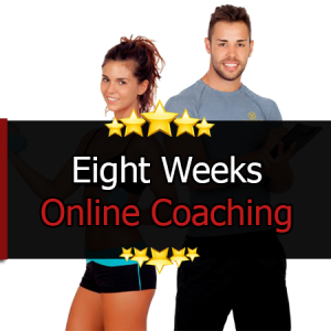 8 Weeks Online Coaching (Nutrition & Training)